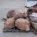 small landscaping boulders